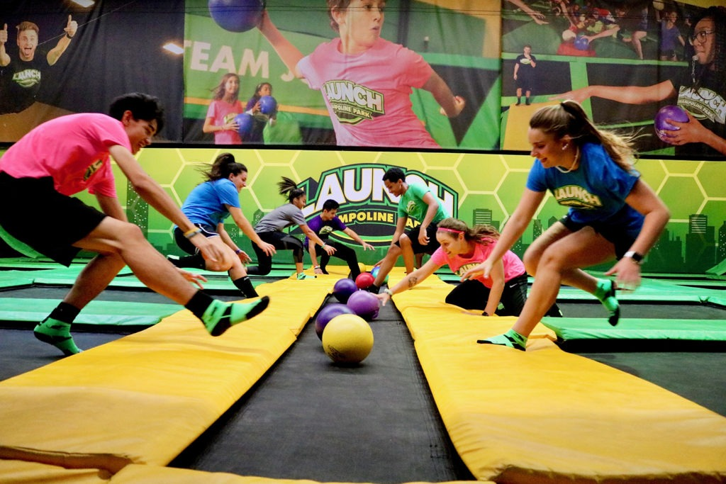 launch trampoline franchise